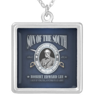 Robert E Lee (SOTS2) Silver Plated Necklace