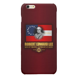 Robert E Lee (Southern Patriot) Glossy iPhone 6 Plus Case