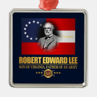 Robert E Lee (Southern Patriot) Metal Ornament