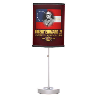 Robert E Lee (Southern Patriot) Table Lamps