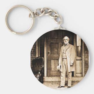 Robert E. Lee - Vintage Mathew Brady Keychain