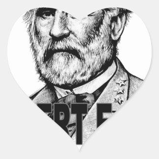 Robert E Lee's.png Heart Sticker