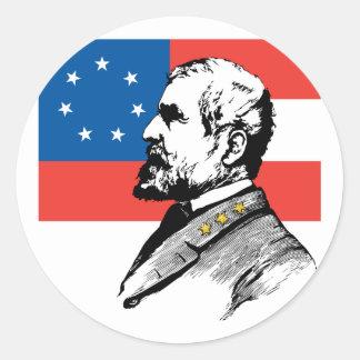 Robert Edward Lee Classic Round Sticker