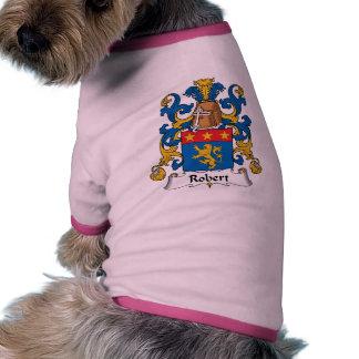 Robert Family Crest Dog Tshirt