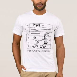 ROBERT FLUDD'S COMPARISON OF OBJECTS AND NUMBERS T-Shirt