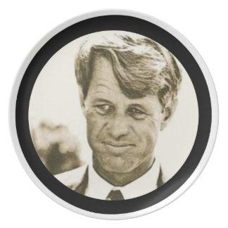 Robert Francis Kennedy Melamine Plate