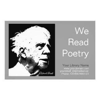 Robert Frost Custom Flyer