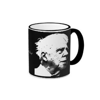 Robert Frost Ringer Coffee Mug