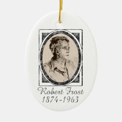 Robert Frost Ornament