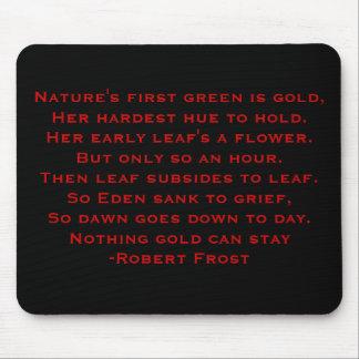 Robert Frost Poem Mouse Mat