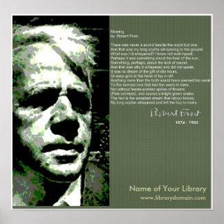 Robert Frost Póster