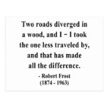 Robert Frost Quote 1a Postcard