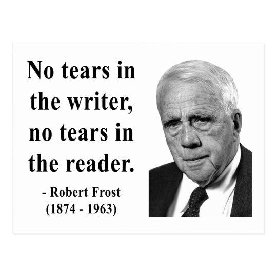 Robert Frost Quote 5b Postcard