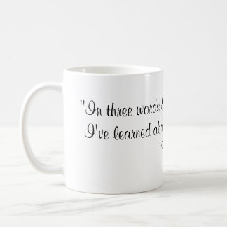 Robert Frost Quote Coffee Mugs
