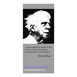 Robert Frost Rack Card