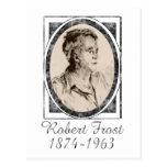 Robert Frost Tarjeta Postal