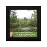 "Robert Frost Wisdom Quote ""Road Less Traveled"" Gift Boxes"