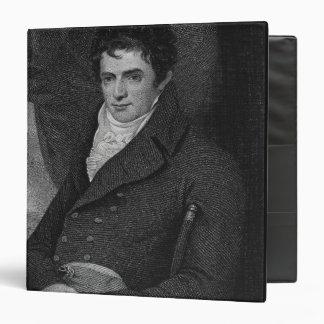 """Robert Fulton (1765-1815), grabado por el parque Carpeta 1 1/2"""""""