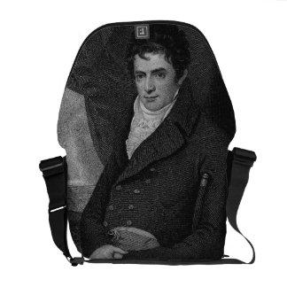 Robert Fulton (1765-1815), grabado por el parque d Bolsa De Mensajería