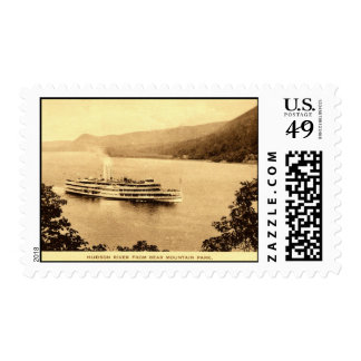 Robert Fulton Hudson River Bear Mountain Park NY Postage