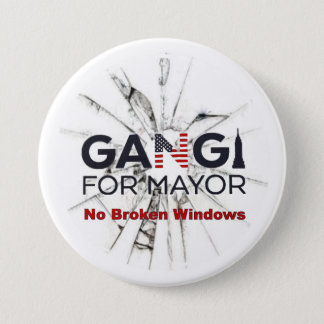 Robert Gangi for Mayor Pinback Button