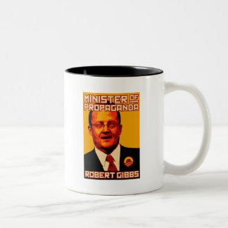 Robert Gibbs Minister of Propaganda Two-Tone Coffee Mug