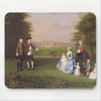 Robert Gwillym of Atherton and his Family, c.1745- Mouse Pad