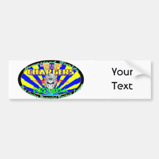Robert Is Here Fruit Stand Chargers Bumper Sticker