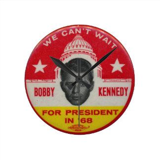 Robert Kennedy for President wall clock