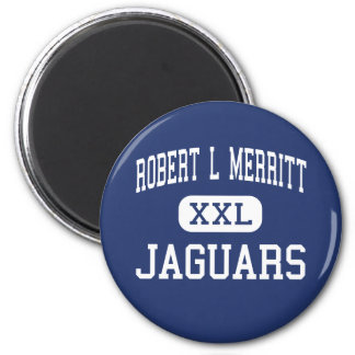 Robert L Merritt Jaguars Middle Indianola Refrigerator Magnet
