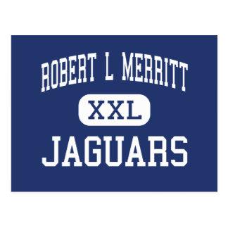 Robert L Merritt Jaguars Middle Indianola Postcard