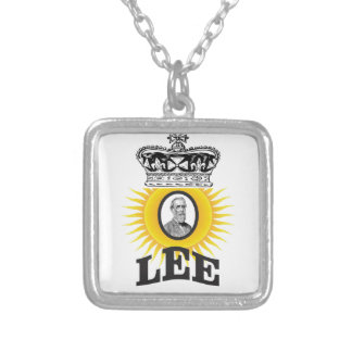 Robert Lee sun of south Silver Plated Necklace