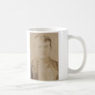 Robert LeRoy Parker alias Butch Cassidy Portrait Classic White Coffee Mug