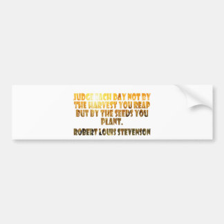 Robert Louis Stevenson Bumper Sticker