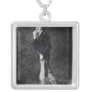 Robert Louis Stevenson Collar Plateado