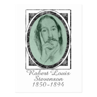 Robert Louis Stevenson Post Card