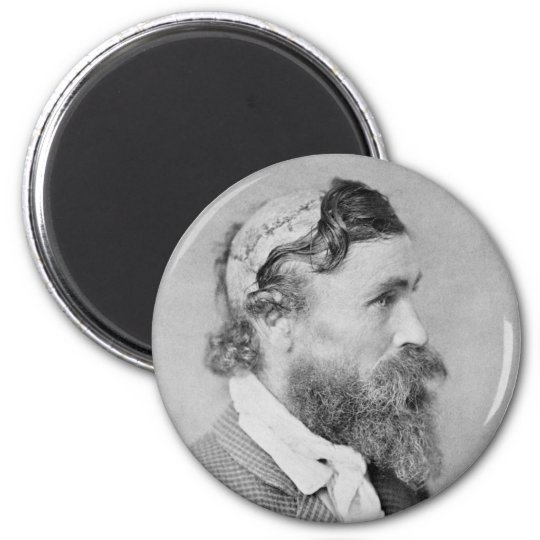 Robert McGee Scalped by Sioux Chief Little Turtle Magnet