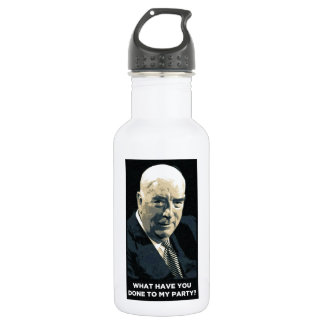 Robert Menzies - what have you done to my party? Stainless Steel Water Bottle