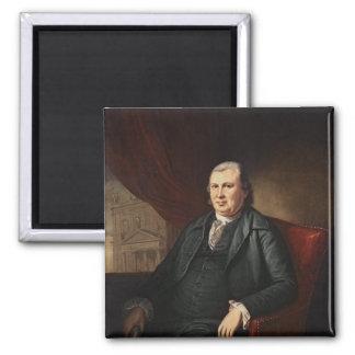 Robert Morris Fridge Magnet