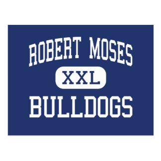 Robert Moses Bulldogs Middle North Babylon Postcard