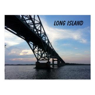 Robert Moses Causeway Long Island Postcard