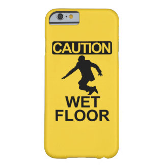 Robert Mugabe wet floor sign Barely There iPhone 6 Case
