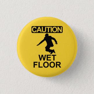 Robert Mugabe wet floor sign Button