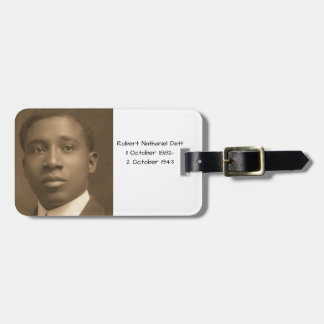 Robert Nathaniel Dett Luggage Tag
