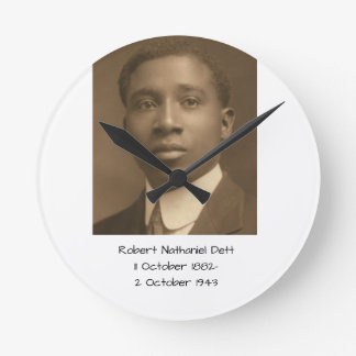 Robert Nathaniel Dett Round Clock