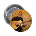 Robert Nix Pinback Buttons