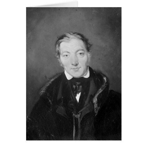 Robert Owen Greeting Card