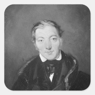 Robert Owen Square Sticker