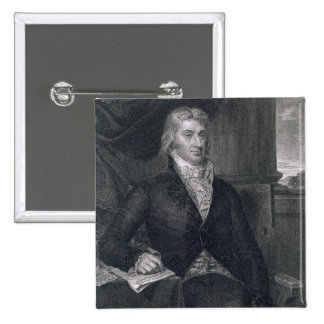 Robert R. Livingston, engraved by E. Mackenzie (en 2 Inch Square Button