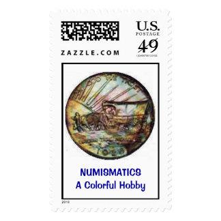 Robert S. Riemer COIN DEALER Coins on Stamps